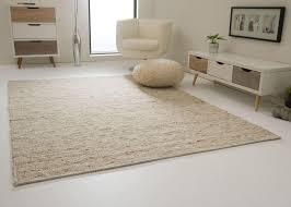 steffensmeier handweb teppich landshut nutzschicht 100 schurwolle wohnzimmer esszimmer schlafzimmer beige größe 250x340 cm