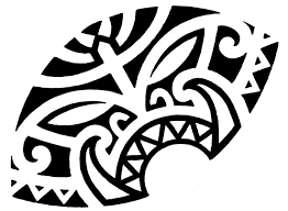 Maori Tiki Tattoo For Chest