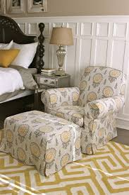 Custom Slipcovers By Shelley: Gray/Yellow Bedroom Chair And Ottoman Chair And Ottoman Slipcovers Sectional House Plan And Tips T Cushion For Wing Chairs With Soft Elegant Interior Amazoncom Sure Fit Stretch Leather Slipcover Brown Fniture Sofa Covers At Walmart Linen Couch Sofas Marvelous Loveseat White Arhaus With Camden Collection Ebth Ideas Chic Pottery Barn Better Look Summer For Wingback The Maker Apartments Stunning Living Room Decoration Chrome Club Set Allen Beige Fabric