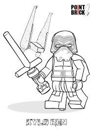 Disegni Da Colorare LEGO Star Wars The Force Awakens