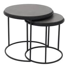 Roost Nesting Tables Set Of 2 | Products | MOE'S Wholesale Nesting Tables Set Of 2 Havsta Gray Josef Albers Tables 4 Pavilion Round Set Zib Gray Piece Oslo Retail 3 Modern Reflections In Blackgold Two Natural Pine And Grey Zoa Nesting Tables Set Of Lack Black White Contemporary Solid Wood Maitland Smith Faux Bamboo