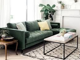 joli canapé inspirations pour un canapé en velours joli place