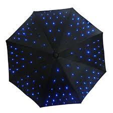 fonction le de poche fournir led lumière uv parapluie avec le de poche fonction