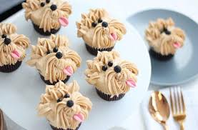 Bespoke Puppy Cupcakes Delivered To A Cool Office In London