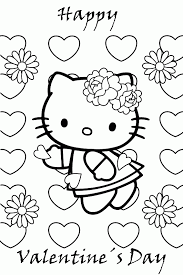 Printable Valentine Coloring Pictures