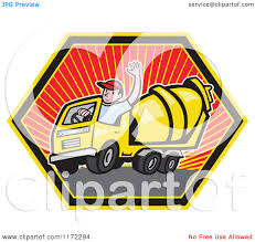 Clipart Of A Cement Truck Driver Waving In A Hexagon - Royalty Free ... Driver Uninjured After Rolling Cement Mixer Truck Cement Truck Drawing At Getdrawingscom Free For Personal Use Woman Angry Over Dumping Youtube Cstruction Worker Mixer Stock Photo 2797173 Awis Loading System Click Clack Heavy Duty The Concrete Killed By Pipes In East China City Held Hitandrun Dubai National Cyclist Killed Being Run Hamilton Driving A Rewarding Challenge Diesel School Driver Took The Turn Too Fast I Was Waiting An On 43555218 Alamy