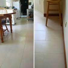 more recent floor tile installs wood tile concrete look tile