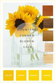 farbkonzepte wände in sonnenblumengelb