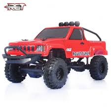 100 Electric Mini Truck HSP 124 Scale RC Car Monster 4wd Off Road Rock