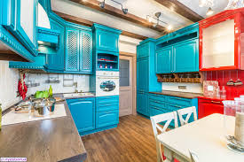 Full Size Of Kitchen Red And Turquoise Decor Appliances Cabinets Small