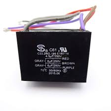 Cbb61 Ceiling Fan Capacitor 5 Wire by Ceiling Fan Capacitor Cbb61 4 5uf 6uf 6uf 5 Wire 250v Ebay
