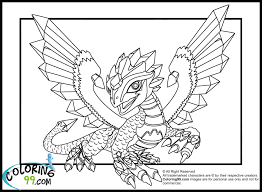 Dragon Coloring Pages Lego Ninjago