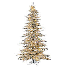 9 Slim Christmas Tree Prelit by Christmas Trees Sam U0027s Club
