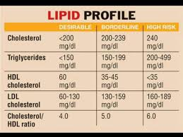 hdl cholesterol range normal lipid profile chart triglycerides hdl ldl total cholesterol