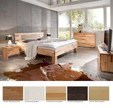 schlafzimmer visp buche massivholzbett auswahl kommode lowboard nako expendio