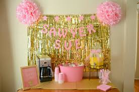 Foil Fringe Curtain Dollar Tree by Twinkle Twinkle Little Star Party Pink And Gold Party