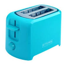 Turquoise 2 Slice Cool Touch Toaster With Wide Slots Electronic Browning Control Cancel Feature High Rise Hinged Crumb Tray
