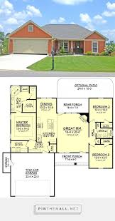 Craftsman Style House Plans Ranch by Best 25 Craftsman Style House Plans Ideas On Pinterest Bungalow