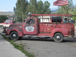 100 Old Fire Trucks Old Fire Truck In Ridgway CO Trucks Cars Pinterest