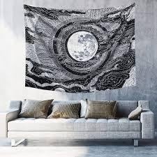 mond tapeten wand decke für wohnzimmer schlafzimmer haus dekor