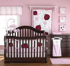 Bacati Crib Bedding by Lady Bug Nursery Pretty Pink Ladybug Crib Bedding Pretty In Pink
