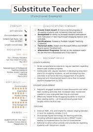 Functional Substitute Teacher Resume Sample 20 What Does A ... Substitute Teacher Resume Samples Templates Visualcv Guide With A Sample 20 Examples Covetter Template Word Teachers Teaching Cover Lovely For Childcare Skills At Allbusinsmplates Example For Korean New Tutor 40 Fresh Elementary Professional Fine Artist Math Objective Format Unique English 32 Ideas All About