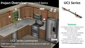 cabinet lighting uc1 series from iluxx installation guide
