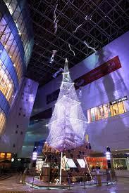 Swarovski Crystal Christmas Tree On Display At Xiamen China