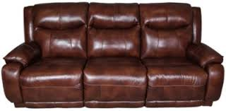 southern motion velocity leather reclining sofa w power headrest