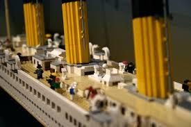 lego titanic history sailed left southton england flickr
