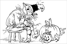 Scary Halloween Coloring Pages 50 Best Printable Celebration Free Online