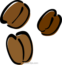 Coffee Beans Royalty Free Vector Clip Art Illustration Vc014626
