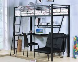 Acme Furniture Senon Desk With Folding Bed And Chair Twin Loft Bed ...