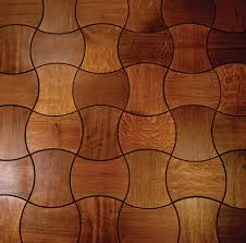 Enigma Puzzling Wooden Floor Design By Jamie Beckwith