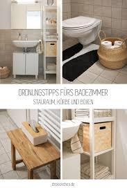 badezimmer ordnungstipps schöne badezimmer ablage bad