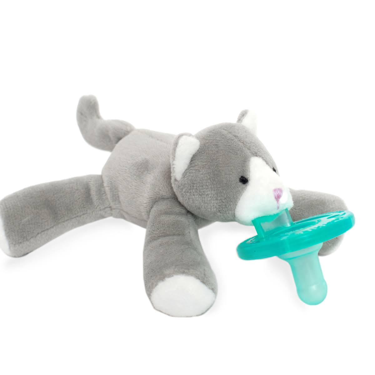 WubbaNub Grey Kitten Pacifier