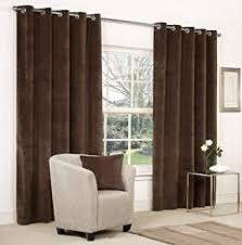 Amazon Uk Living Room Curtains by Mesola Velvet Metal Eyelet Ring Top Curtains 90