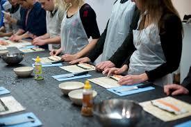 atelier sushi4you cours de cuisine sushi maki california du