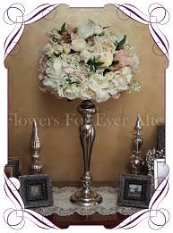 Vintage Pastel Flower Dome Table Centerpiece For Hire In Melbourne And Surrounds Silk Wedding
