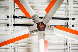 large industrial ceiling fans industries served