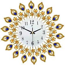 jroyseter 3d wanduhr iron gold diamanten silent dekorative uhr einzigartige pfauenform moderne wanduhren wohnkulturuhr für wohnzimmer büro