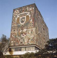 Famous Mexican Mural Artists by National Autonomous University Of Mexico University Mexico City
