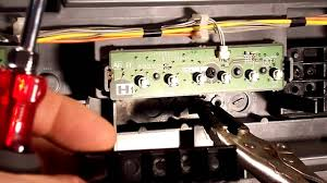 Kds R60xbr1 Lamp Door Switch by Sony Kds 60a2000 Kds R70xbr2 Light Engine Installation Youtube