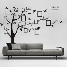 Ebay Wall Decoration Stickers by Outstanding Tree Wall Art Stickers Black Family Tree Wall Family