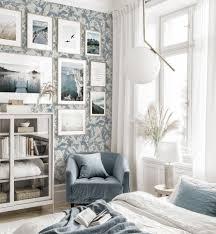elegante bilderwand schlafzimmer naturposter strand eichenrahmen