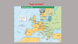 Who Coined The Iron Curtain cold war conflicts chapter ppt video online download