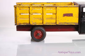 Buddy L Jr Stake Baggage Truck For Sale *sold* - Antique Toys For Sale 1926 Buddy L Wrecker For Sale Vintage Trucks Truck Pictures Toms Delivery Truck Stock Photo Royalty Free Image Cash It Stash Or Trash Street Sprinkler Tanker 1920s Giant Pressed Steel Dump Chain Crank Junior Line Dump 11932 Type Ii Restored Antique Toy Buddy Pressed Steel Metal Pickup Truck Traveling Zoo Vehicle Red Trend Truckbuddy Fire Brinks Witherells Auction House Army Transport