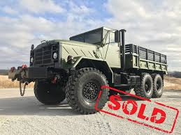 100 Ton Truck M925A2 5 TON MILITARY 6 X 6 Cargo TRUCK WITH WINCH Midwest
