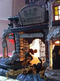 Lemax Halloween Village Displays by 51 Best Holiday Halloween Village Displays Images On Pinterest