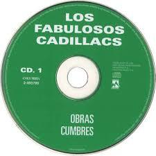Carátula Cd1 de Los Fabulosos Cadillacs Obras Cumbres Portada